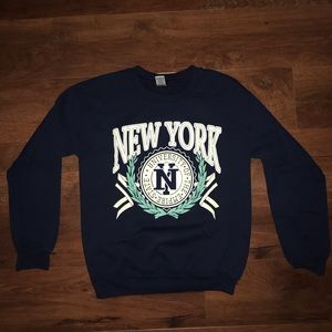 Men's Forever 21 New York University Sweater